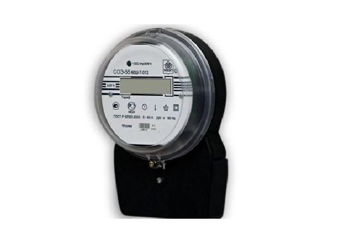 Электрические счетчики СОЭ-55/60 Ш-Т-112 Однофазные электронные счетчики, предназначены для учета активной...